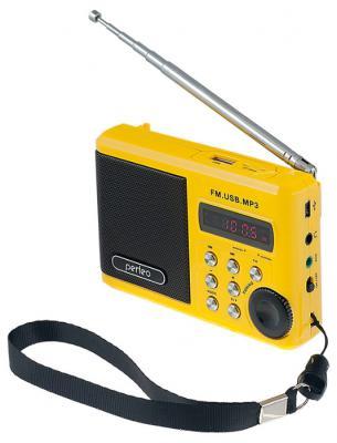Портативная акустика Perfeo Sound Ranger 2 Вт FM MP3 USB microSD BL-5C 1000mAh желтый SV922YL