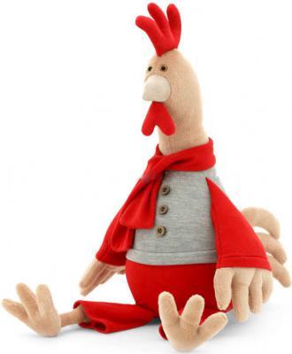 Мягкая игрушка петух Orange Петушок Юрик плюш полиэстер текстиль разноцветный 30 см 4751025411277