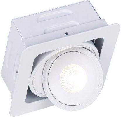 Встраиваемый светодиодный светильник Arte Lamp Studio A3007PL-1WH встраиваемый светильник arte lamp studio a3007pl 2wh