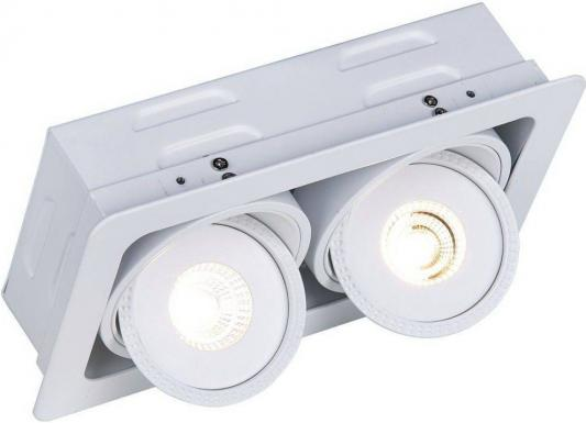 Встраиваемый светодиодный светильник Arte Lamp Studio A3007PL-2WH встраиваемый светильник arte lamp studio a3007pl 2wh
