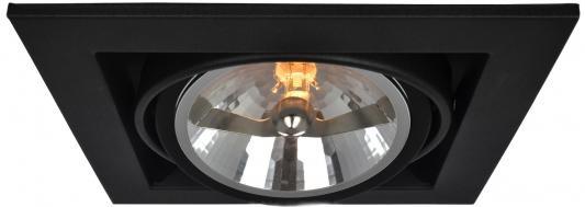 Встраиваемый светильник Arte Lamp Cardani A5935PL-1BK встраиваемый спот точечный светильник arte lamp cardani a5935pl 4bk