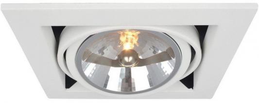 Встраиваемый светильник Arte Lamp Cardani A5935PL-1WH встраиваемый спот точечный светильник arte lamp cardani a5935pl 4bk