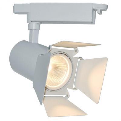 Трековый светодиодный светильник Arte Lamp Track Lights A6730PL-1WH
