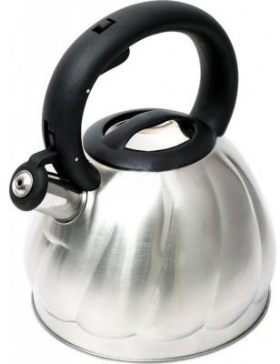 Чайник Wellberg WB-6223 серебристый 2.7 л нержавеющая сталь