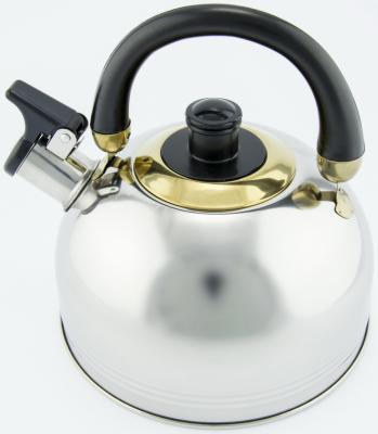 Чайник Wellberg WB-0126 серебристый 2 л нержавеющая сталь цена