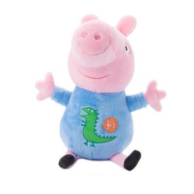 Мягкая игрушка поросенок Росмэн Джордж плюш розовый 25 см