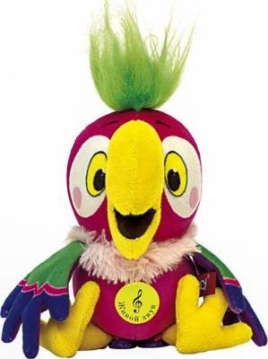 Мягкая игрушка герой мультфильма Fancy Попугай Кеша Союзмультфильм искусственный мех разноцветный 17 см ЧБШ0\\М
