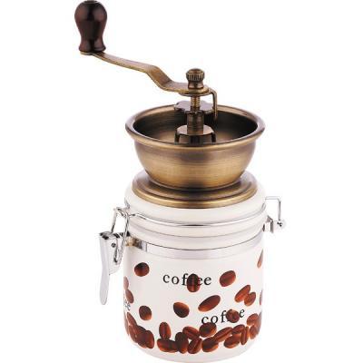 купить Кофемолка Wellberg WB-9941 с рисунком по цене 750 рублей