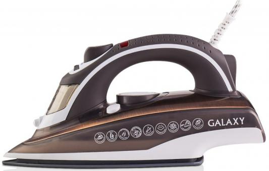 Утюг GALAXY GL6114 2400Вт коричневый утюг galaxy gl 6114