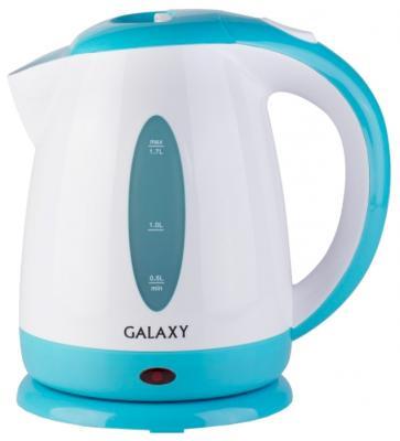 Чайник GALAXY GL0221 2200 Вт голубой 1.7 л пластик