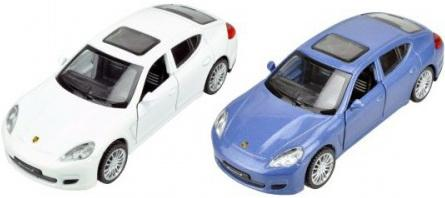 Машина мет.Пламенный мотор 1:43 Porsche Panamera Sоткр.двери, цвета в ассорт. электромобиль river auto porsche panamera а 444 аа кожа