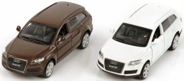Машина мет.Пламенный мотор 1:43 Audi Q7, откр.двери, цвета в ассорт.