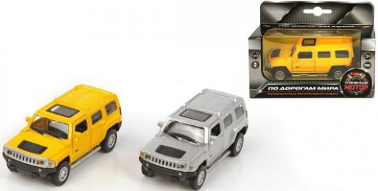 Машина мет.Пламенный мотор 1:43 Hummer H3, откр.двери, цвета в ассорт. цена