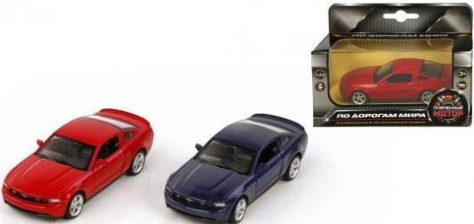 Машина мет.Пламенный мотор 1:43 Ford GT, откр.двери, цвета в ассорт. 870136