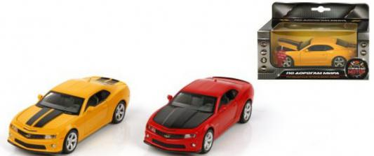 Автомобиль Пламенный мотор Chevrolet Camaro 1:32 в ассортименте 4891761238063