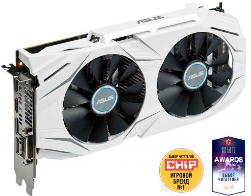 Видеокарта 4096Mb ASUS RX 480 PCI-E DVI HDMI DP DUAL-RX480-O4G Retail