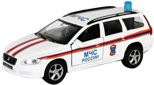 Машина Пламенный мотор 1:32 Volvo МЧС белый 16 см
