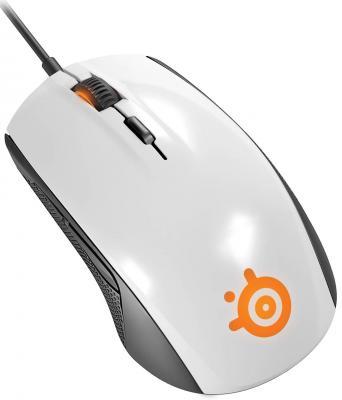 Мышь проводная Steelseries Rival 300 белый USB 62354