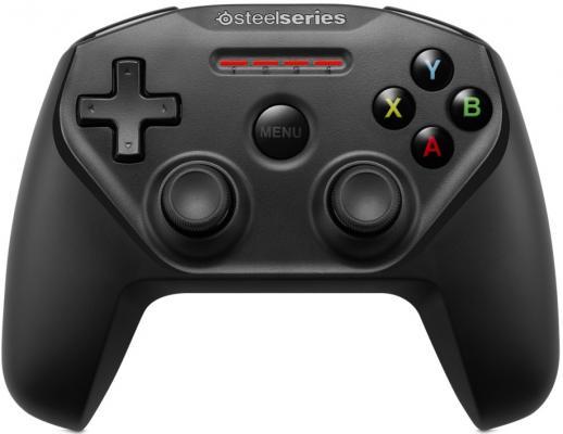 Геймпад Steelseries Nimbus черный Bluetooth 69070 геймпад беспроводной steelseries nimbus черный [69070]