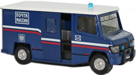 Машина Пламенный мотор 1:32 Почта синий 18 см