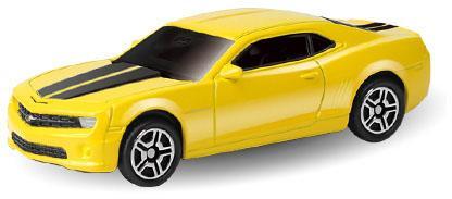 Автомобиль Autotime Chevrolet Camaro 1:64 цвет в ассортименте в ассортименте 49941 машинки autotime машина lada 111 пожарная охрана