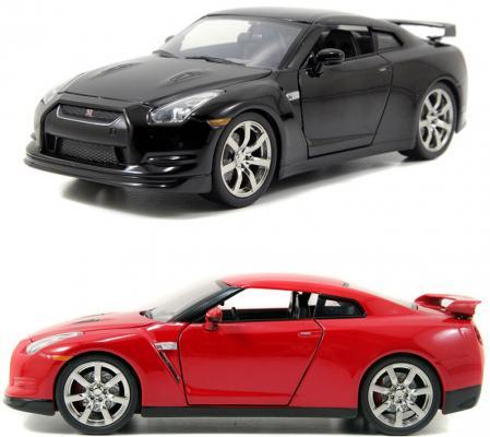 Автомобиль Autotime Nissan GT-R 1:64 цвет в ассортименте 49944