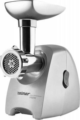 Электромясорубка Zelmer ZMM2088XRU 650 Вт серебристый