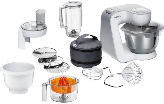 Кухонный комбайн Bosch MUM 58243 белый цена