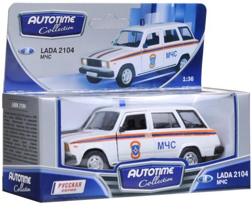 Автомобиль Autotime ЛАДА 2104 МЧС 1:34/39 белый 32678