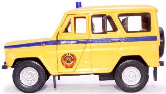 Автомобиль Autotime УАЗ-31514 Сов.милиция желтый Р40517