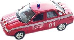 Автомобиль Autotime Лада 2110 пожарная охрана красный 3315386