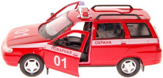Автомобиль Autotime ЛАДА 111 Пожарная охрана красный 3315386