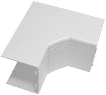 Угол внутренний DKC 01829 NIA 100x60мм белый  угол изменяемый внешний dkc 1шт серый 01052