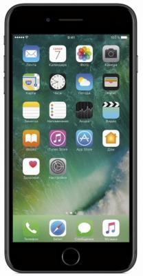 Смартфон Apple iPhone 7 Plus 128 Гб черный MN4M2RU/A смартфон apple iphone 7 plus 32gb rose gold mnqq2ru a