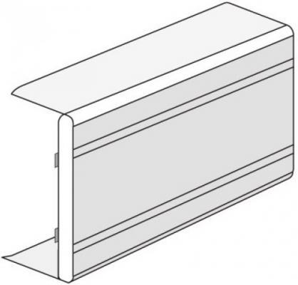 Тройник DKC 01761 NTAN 100x60мм белый
