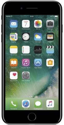 "Смартфон Apple iPhone 7 Plus черный оникс 5.5"" 128 Гб NFC LTE Wi-Fi GPS 3G MN4V2RU/A"