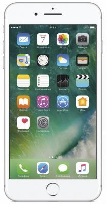 "Смартфон Apple iPhone 7 Plus серебристый 5.5"" 256 Гб NFC LTE Wi-Fi GPS 3G MN4X2RU/A"