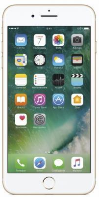Смартфон Apple iPhone 7 Plus золотистый 5.5 32 Гб NFC LTE Wi-Fi GPS 3G MNQP2RU/A смартфон apple iphone 6s серебристый 4 7 128 гб nfc lte wi fi gps 3g mkqu2ru a