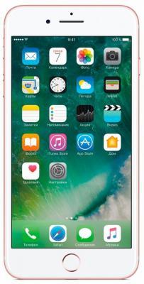 Смартфон Apple iPhone 7 Plus розовое золото 5.5 32 Гб NFC LTE Wi-Fi GPS 3G MNQQ2RU/A смартфон apple iphone 7 золотистый 4 7 32 гб nfc lte wi fi gps 3g mn902ru a