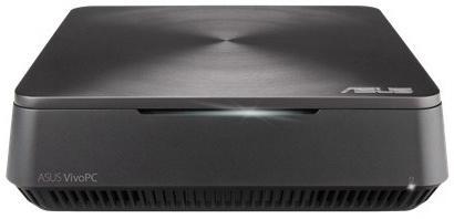 Неттоп ASUS VivoPC VM62-G286M Intel Core i3-4005U 4Gb 500Gb Intel HD Graphics 4400 DOS серебристый 90MS00D1-M02870