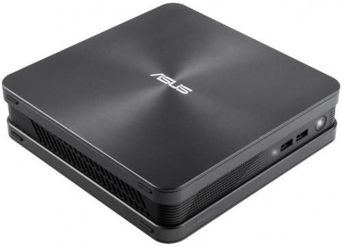 "ASUS VivoPC VC65R-G038M  i5-6400T/8GB/1xHDMI; 1xVGA; 1xDP/NO HDD 4 x 2.5"" RAID/6 x 3.0/VESA/10/100/1000Mbps/802.11 ac+ BT4.0/Speaker 2 x 2W/DOS/Metallic Gray 90MS00P1-M00380"
