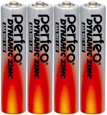 Батарейки Perfeo R03/4SH Dynamic Zinc AAA 4 шт
