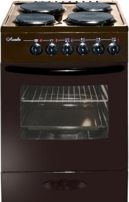 Электрическая плита Лысьва ЭП 403 коричневый электрическая плита лысьва эп 403 м2с белая стекл крышка
