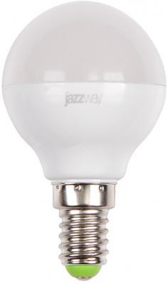 Лампа светодиодная шар JazzWay PLED-SP G45 E14 7W 3000K