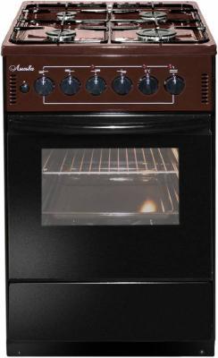 Комбинированная плита Лысьва ЭГ 401-2у коричневый