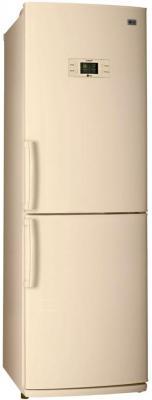 Холодильник LG GA-B409UEQA бежевый