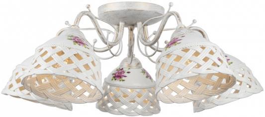 Потолочная люстра Arte Lamp Wicker A6616PL-5WG