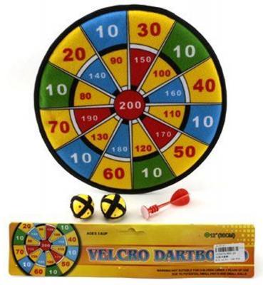 "Спортивная игра дартс Shantou Gepai ""Velcro"" 30 см 800-2A"