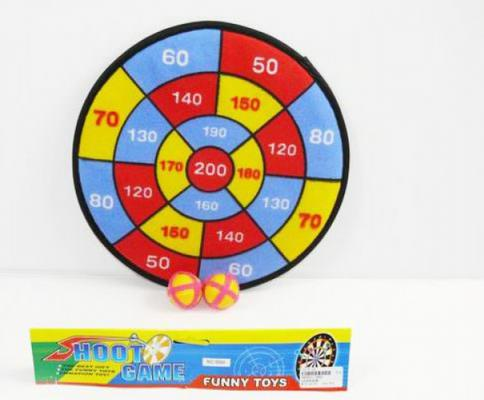 Купить Спортивная игра Shantou Gepai дартс с шариками-липучками 568A, Размер упаковки: 28 x 28 x 0.5 см., Прочие спортивные игры