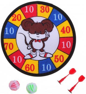 "Спортивная игра Shantou Gepai дартс ""Мышонок"" 1toy mookie игра спортивная twin jumbo catch 2 стаканчика 2 мячика 135999"